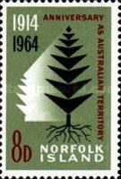 [The 50th Anniversary of Norfolk Island as Australian Territory, Typ AM]