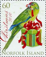 [Chrstmas - Parrots, Typ AMP]