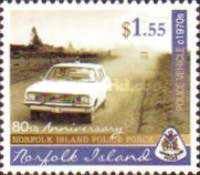 [The 80th Anniversary of the Norfolk Island Police Force, type ANZ]