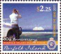 [The 80th Anniversary of the Norfolk Island Police Force, type AOA]