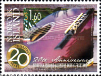 [The 20th Anniversary of the Norfolk Island Country Music Festival, Typ APJ]