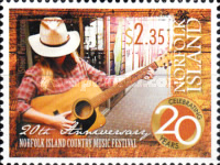 [The 20th Anniversary of the Norfolk Island Country Music Festival, Typ APL]