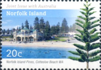 [The 100th Anniversary of Norfolk Island Becoming an External Territory of Australia - Joint Issue with Autralia, Typ AQL]