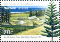 [The 100th Anniversary of Norfolk Island Becoming an External Territory of Australia - Joint Issue with Autralia, Typ AQM]