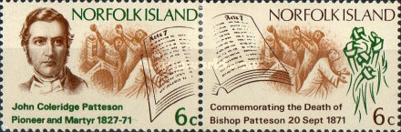 [The 100th Anniversary of the Death of Bishop John Coleridge Patteson, 1827-1871, type CK]