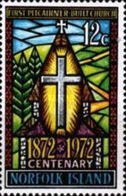 [The 100th Anniversary of First Pitcairner-built Church in Norfolk Island, type CQ]