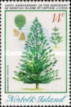[The 200th Anniversary of the Discovery of Norfolk Island by James Cook, type DN]