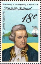[The 200th Anniversary of Captain Cook's Landing in Hawaii, Typ FB]