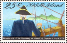 [The 200th Anniversary of Captain Cook's Landing in Hawaii, Typ FC]