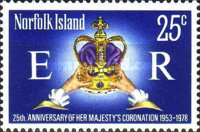 [The 25th Anniversary of the Coronation of Queen Elizabeth II, Typ FI]