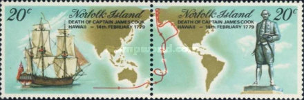 [The 200th Anniversary of the Death of Captain Cook, 1728-1779, Typ FW]
