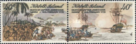 [The 200th Anniversary of the Death of Captain Cook, 1728-1779, Typ FY]