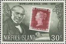 [The 100th Anniversary of the Death of Sir Rowland Hill, Typ GB]