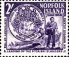 [The 100th Anniversary of Landing of Pitcairners on Norfolk Island, Typ H1]