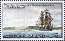 [The 125th Anniversary of Pitcairn Islanders' Migration to Norfolk Island, Typ HE]