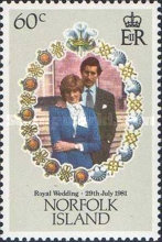 [The Royal Wedding of Prince Charles and Lady Diana Spencer, Typ HJ]
