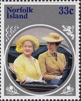 [The 85th Anniversary of the Birth of Queen Elizabeth the Queen Mother, 1900-2002, Typ LE]