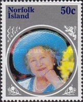 [The 85th Anniversary of the Birth of Queen Elizabeth the Queen Mother, 1900-2002, Typ LF]