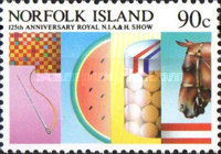 [The 125th Anniversary of Royal Norfolk Island Agricultural and Horticultural Show, Typ LL]