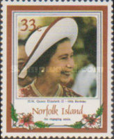 [The 60th Anniversary of the Birth of Queen Elizabeth II, type MA]