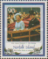 [The 60th Anniversary of the Birth of Queen Elizabeth II, type MC]