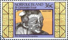 [The 200th Anniversary of the Colonization of Norfolk Island, type MK]