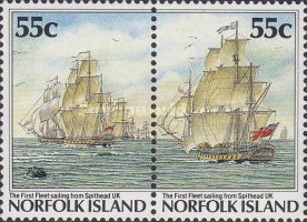 [The 200th Anniversary of the Colonization of Norfolk Island, Typ NE]
