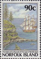 [The 200th Anniversary of the Colonization of Norfolk Island, Typ NP]