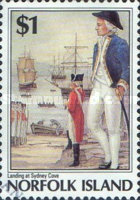 [The 200th Anniversary of the Colonization of Norfolk Island, Typ NS]
