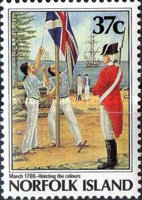 [The 200th Anniversary of the Colonization of Norfolk Island, Typ NU]