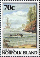 [The 200th Anniversary of the Colonization of Norfolk Island, Typ NW]