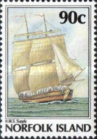 [The 200th Anniversary of the Colonization of Norfolk Island, Typ NX]