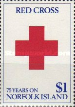 [The 75th Anniversary of Red Cross on Norfolk Island, Typ OZ]