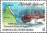 [History of Norfolk Island - The Unsuccessful Searcg of the Mutineers of the