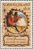 [The 500th Anniversary of Discovery of America, type QY]