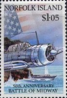 [The 50th Anniversary of Battle of Midway, type RB]