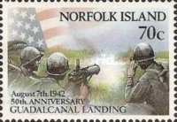 [The 50th Anniversary of Battle of Guadalcanal, Typ RG]