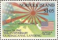 [The 50th Anniversary of Battle of Guadalcanal, Typ RH]