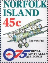 [The 75th Anniversary of Royal Australian Air Force - Aircraft, Typ UE]