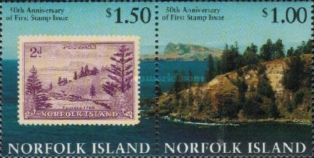 [The 50th Anniversary of Stamps in Norfolk Island, Typ VG]