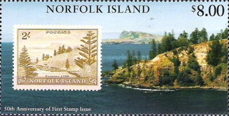 [The 50th Anniversary of Stamps in Norfolk Island, Typ VH]