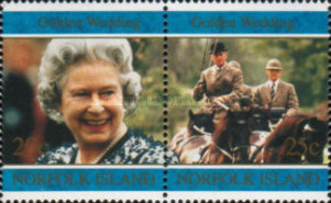 [The 50th Anniversary of the Royal Wedding of Queen Elizabeth II and Prince Philip, Typ VJ]