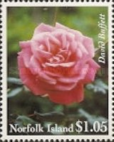 [The 50th Anniversary of National Women's Association - Roses, Typ XP]