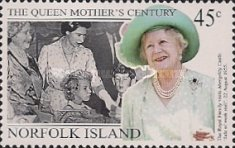 [The 99th Anniversary of the Birth of Queen Elizabeth the Queen Mother, 1900-2001, Typ XV]