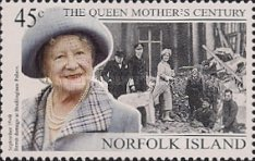 [The 99th Anniversary of the Birth of Queen Elizabeth the Queen Mother, 1900-2001, Typ XW]