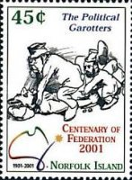 [The 100th Anniversary of Commonwealth of Australia, Typ ZM]