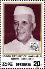 [The 100th Anniversary of the Birth of Jawaharlal Nehru, 1889-1964, and International Stamp Exhibition