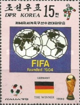 [West Germany, Winners of Football World Cup - Italy, type DJV]
