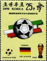 [West Germany, Winners of Football World Cup - Italy, type DJX]
