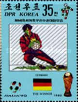 [West Germany, Winners of Football World Cup - Italy, type DJZ]